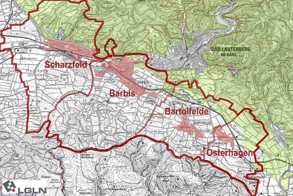 Dorfregion Südharz